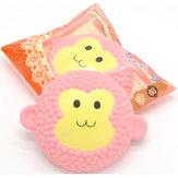 2PCS Areedy Squishy Jumbo Monkey Cake 15cm duftende langsomt stigende emballage gave indretning