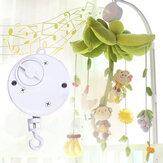Babybedje Opknoping Bell Opwindbare Roterende Muziekdoos Kinderen Ontwikkelen Speelgoed Cadeau