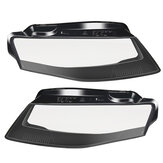 Car Headlight Headlamp Cover Lens Left /Right For Audi A4 B8 2009-2012