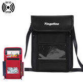 Men Women RFID Nylon Anti-Theft Travel Passport Bag Multi-Function Sling Bag Shoulder Crossbody Bag