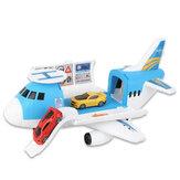 3/7 Pcs Simulatie Spoor Inertie Vliegtuigen Grote Maat Passagiersvliegtuig Kids Airliner Model Speelgoed voor Kinderen Verjaardagen Kerstcadeau