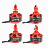 4X Racerstar Racing Edition 4114 BR4114 400KV 4-8S Brushless Motor Für 600 650 700 800 RC Drone FPV Racing