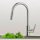 Viomi Brand Stainless Steel Kitchen Basin Sink Faucets Pull Out Single Handle Cold Hot Water Mixer Deck Mount Aerater Tap