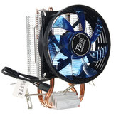 Core LED CPU Quiet Fan Cooler Heatsink Cooling Equipment
