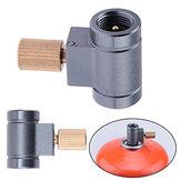 Canister Shifter Refil Adaptador Função de ventilação Queimador de gás Fogão de acampamento Conversor de cilindros