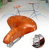 BIKIGHTVéloEnCuirVéritableSiège De Selle De Vélo Confortable Coussins D'équitation Vélo Selle