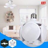 50W E27 Football UFO LED Garage Lamp Workshop Folding Light Deformable Ceiling Bulb AC165-265V