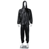 M-3XL Fitness Hiking Suit Sports Fitness Body Shape Sauna Suit Sweat Suit Running Workout Suit Exercise Gym