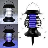 Zanzara elettrica Killer lampada Casa LED Bug Zapper Trappola per insetti Anti Zanzara solare Ricarica