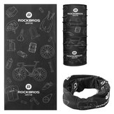 ROCKBROS TJ-001 Cycling Outdoor Sport-sjaal Plus Fluweel Warmhoudend Flexibel Ademend