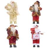 Papai Noel Boneca Feliz Natal Árvore Estatueta Ornamento Criança Brinquedo Presente Desktop Decoração