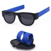 Fashion Summer Foldable Sunglasses Outdoor Polarizing UV400 Riding Glasses For Men Women