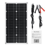 100W 18V High Efficieny Solar Panel USB DC Monocrystalline Solar Charger For Car RV Boat Battery Charger Waterproof