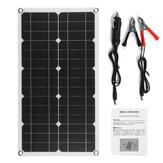 100 W 18 V Painel Solar de Alta Eficiência USB DC Monocristalino Carregador Solar Para Barco RV Barco Bateria Carregador À Prova D 'Água