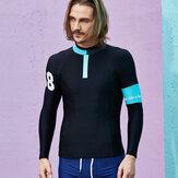 SurfDivingSnabbtDryLongSleeve Sunscreen Badkläder