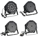 RGB remoto DMX512 Ativado por voz 36 LED Stage Light Party Disco KTV Lamp 110-240V