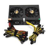 3450W Miner Power Supply 140mm Cooling Fan ATX 12V Version 2.31 Computer Power Supply Mining