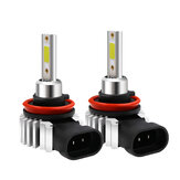 D9 60W 8000LM COB LED Car Headlights Bulbs Fog Lamp H1 H3 H4 H7 H11 9005 9006 6000K Replace Xenon HID Halogen