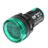 Machifit 22 мм цифровой вольтметр переменного тока AC 50-500V измеритель напряжения Цифровой индикатор Дисплей зеленый