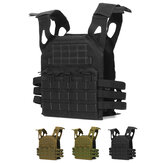 Oxford Cloth Verstellbare taktische Weste Military Molle Combat Assault Schutzkleidung CS Shooting Hunting Vest