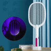 3000V Electric Mosquito Killer With UV Lamp Cordless USB Charging Bug Zapper Camping Fly Swatter Trap Home Pest Bug Insect Racket