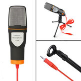 SF666 Professional Condenser Microphone for computer Laptop Singing Speech Meeting Desktop Studio 3.5mm Microphone