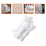 5Pcs 50m Round Elastic Band 3mm Cord Rope Ear Hanging DIY Crafts Sewing