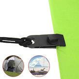 IPree® 10Pcs Alligator Clip Set Tent Clamp Camping Travel Sunshade Accessories
