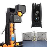 JT-A Tischtennisroboter Automatische Ping Pong Ball Maschinenpraxis recyceln Whit 100 Bälle