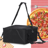 16 '' Pizza Food Delivery Bag Isolierte Thermal Nylon Hält Beutel Aluminiumfolie Verpackungsbeutel