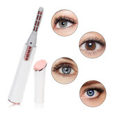 Electric Heated Eyelash Curler Extension Long Lasting Eye Lash Curling Tools Eyes Beauty Makeup Eyelash Curler Pen Cosmetic