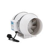 6 inç 75W Silent Fan Çıkarıcı Kanalı Hidroponik Sıralı Egzoz Endüstriyel Havalandırma