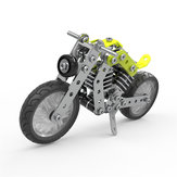 MoFun 3D Metal Puzzle Model Building Stainless Steel Harley Motorcycle 158PCS