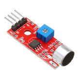10pcs KY-037 Modulo sensore di rilevamento del suono vocale a 4 pin Microfono Trasmettitore Smart Robot Car Geekcreit per Arduino - prodotti che funzionano con schede ufficiali Arduino