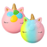 Fantasy Animal squishy Unicorno Macaron 9CM Jumbo Toys Collezione regalo con packaging