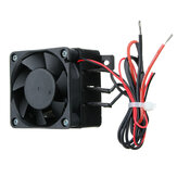 100W 12V 60x60mm DC PTC Fan Heater Constant Temperature Incubator