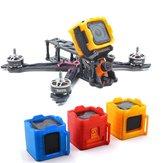 GEPRC 3D Baskılı Kamera Dağı Koruyucu Kılıf Için GoPro Oturumu / Foxeer Kutu Kutu RC Racing Için 2 Spor CAM Drone