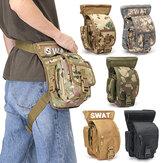 Wielofunkcyjna taktyczna wojskowa saszetka na nogę Wodoodporna mini torba sportowa na świeżym powietrzu podróżna torba na kamuflaż dla kobiet mężczyzn