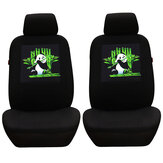 Universal Five Seat Car Seat Cover Panda Skull Head Butterfly Front & Rear Seat Covers