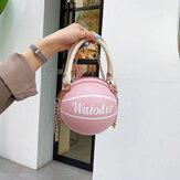Женские баскетбольные цепочки Повседневная сумка PU Crossbody Сумка
