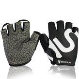 Unisex Fitness Bike Gloves Silica Gel Anti Slip Appliance Dumbbell Sports Glove
