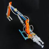 DIY Excavadora hidráulica Robot DIY Robot educativo Juguete ensamblado Juguete de regalo para niños