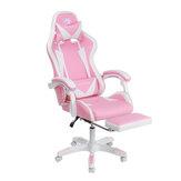 Chaise de jeu BlitzWolf® BW-GC1 Design ergonomique Coussins détachables inclinables à 150° Repose-pieds Accoudoir intégré Bureau à domicile