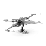 DIY Metal Assembly Model 3D Three-dimensional Puzzle X-wing Fighter Indoor Toys