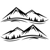 DIY Mountain Decal Sticker Universal For VW T5 T6 Camper Van  Campervan Motorhome Motorcycle Boat