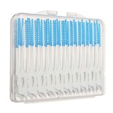 200pcs Interdental Between Teeth Floss Brush Elastic Massage Gum Toothpick
