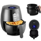 220V 1400W Electric Air Fryer Cooker with Rapid Air Circulation System Touch Screen