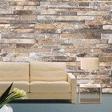 3D壁紙レンガの石のパターンビニール壁紙のロールルームのテレビの背景装飾