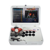 PandoraBox 3D 4018 Games Arcade Game Console 14 بوصة IPS 1080P عالي الوضوح عرض الدعم وايفاي TV Output Retro Arcade Fight Stick Rocker Controller