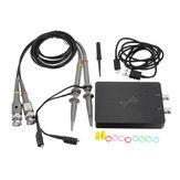 DSCope oscilloscopio Campionamento portatile oscilloscopio 50M 200M larghezza di banda a doppio canale di USB Passenger Strumenti Logic Analyzer Analyzer